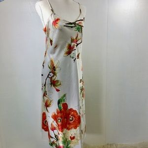Natori Long Floral Nightgown. S